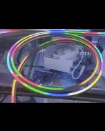 5V 4x10mm 2 meters 192 LEDs UCS1903 RGB LED neon light ribbon