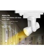 25W 4-wire AL5 alpha lite Mi Light dual white LED rail tracklight