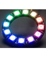 5V 12 LEDs digital WS2812B programmable pixel LED light ring