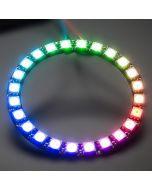 5V 24 LEDs digital WS2812B programmable pixel LED light ring