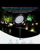 SYS-RC1 Mi Light 9W RGB+CCT LED Garden Landscape Spotlight