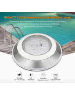 SYS-RW1 Mi Light 12W RGB+CCT LED Underwater Light