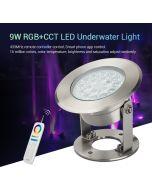 UW03 MiLight 9W RGB+CCT LED underwater light