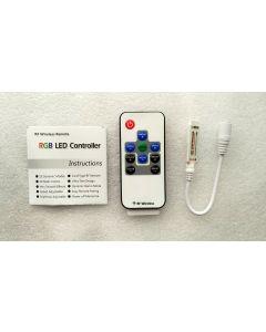 10 keys RF remote RGB controller