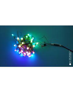 12V IP68 waterproof 100 nodes WS2811 RGB LED pixel module string