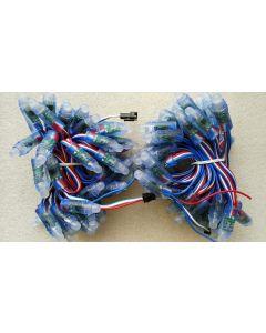 12V IP68 waterproof 100 nodes UCS1903 RGB LED pixel module string