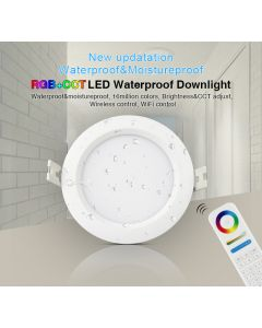 FUT063 6W RGB+CCT Waterproof LED Downlight