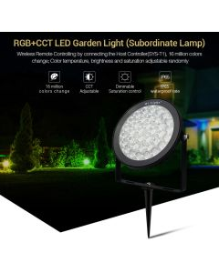 SYS-RC2 MiLight 15W RGB+CCT LED Garden Landscape Spotlight
