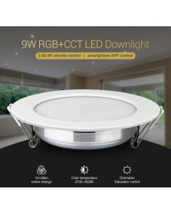 FUT061 MiLight 9W RGB+CCT LED downlight