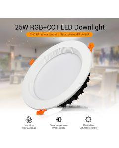 MiBoxer FUT060 MiLight 25W RGB+CCT LED ceiling downlight