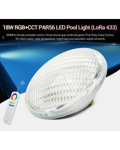 PW02 MiBoxer 18W RGB+CCT PAR56 LED pool light  (LoRa 433)