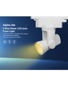 25W 2-wire AL1 alpha lite Mi Light LED dimmer rail tracklight