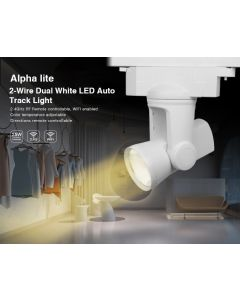 25W 2-wire AL2 alpha lite Mi Light dual white LED rail tracklight