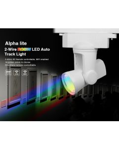 25W 2-wire AL3 Mi Light RGBW alpha lite LED auto rail tracklight