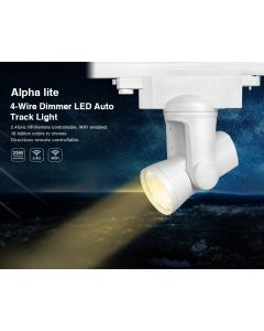 25W 4-wire AL4 alpha lite Mi Light LED dimmer rail tracklight