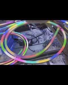 5V 8x16mm 2 meters 192 LEDs UCS1903 RGB LED neon light ribbon