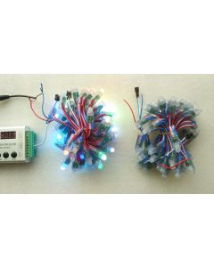 5V 50 nodes WS2811 RGB LED pixel module string