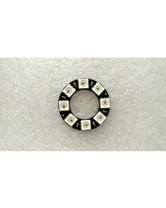 5V 8 LEDs digital WS2812B programmable pixel LED light ring