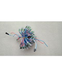 9mm punch hole 5V SM16703 RGB LED pixel light