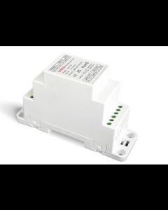 LTech DIN-121 DIN Rail 2CH DMX Signal Amplifier
