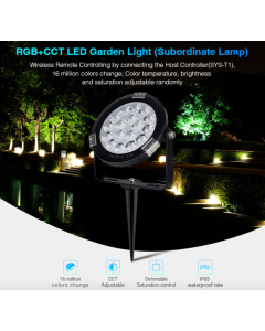 SYS-RC1 Mi Light 9W RGB+CCT LED Garden Landscape Spotlight