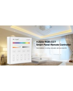 B4 Mi Light RGB+CCT smart panel 2.4GHz RF remote controller