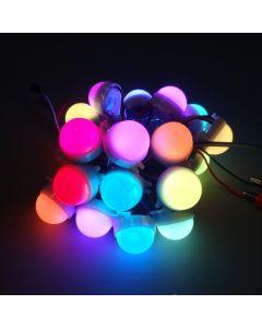 30mm A type 12V 20 nodes WS2811 RGB 5050 LED point pixel light