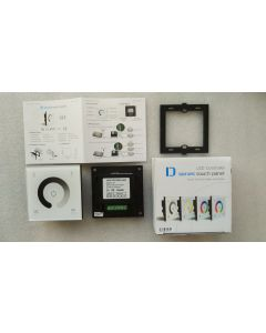 D1 dimming single zone touch panel LED controller