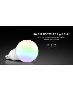 FUT013 Mi Light 5W 2.4GHz RF WiFi remote E14 RGBW LED bulb