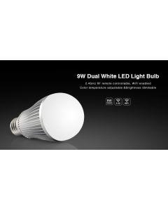 FUT019 Mi Light dimmable 9W RF WiFi remote dual white light LED bulb
