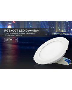 FUT066 Mi Light RF WiFi 12W RGB+CCT LED ceiling downlight