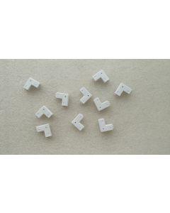 L shape 2-pin connectors
