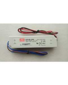 IP67 level Meanwell LPC-60 single output power supply LED driver