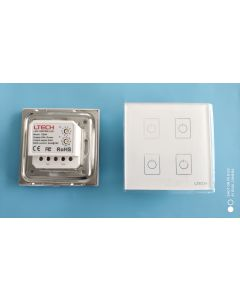 EDA4 DALI touch panel dimmer LED controller