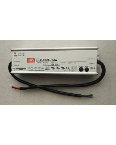 Meanwell waterproof adjustable HLG-240H-24A power supply LED driver