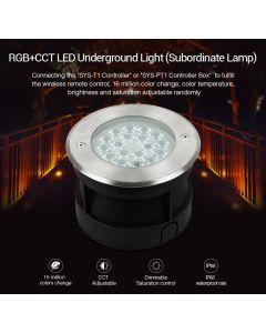 SYS-RD2 MiLight 9W RGB+CCT LED underground light