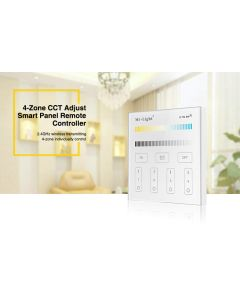 T2 Mi Light CCT color temperature panel 2.4GHz RF remote controller