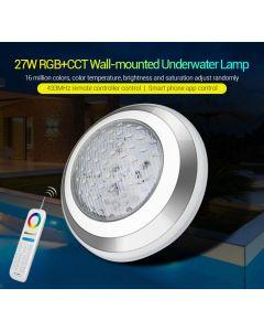 UW02 MiLight 27W RGB+CCT wall-mounted  underwater lamp