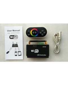 WF400 iPhone Android router WiFi wireless RGB LED controller