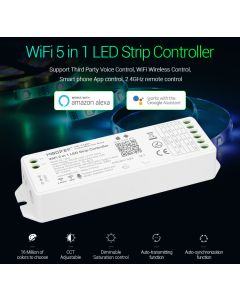 Miboxer MiLight WL5 2.4GHz WiFi 5 in 1 LED strip controller